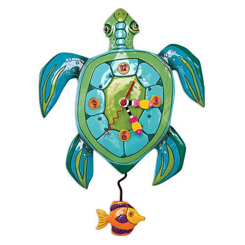 Turtle Pendulum Clock