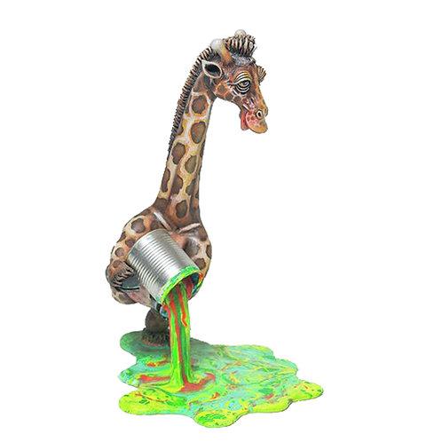 Giraffe Paint Spill