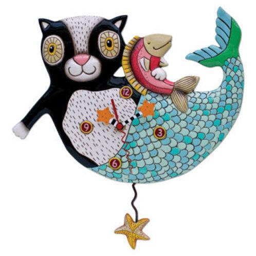 Mercat Mermaid Clock