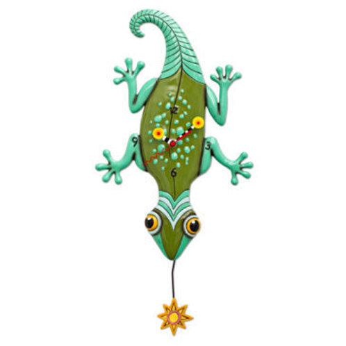 Sun Lizard Clock