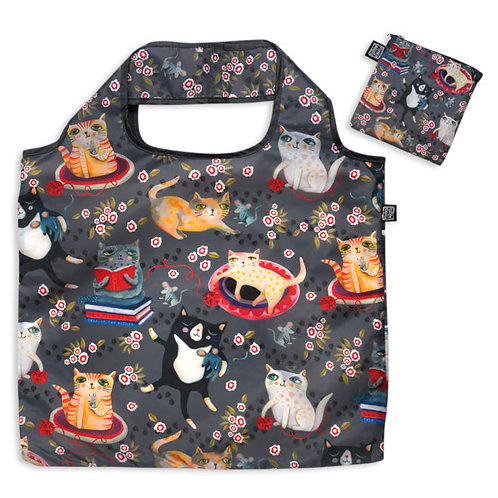 Crazy Cat Folding Bag
