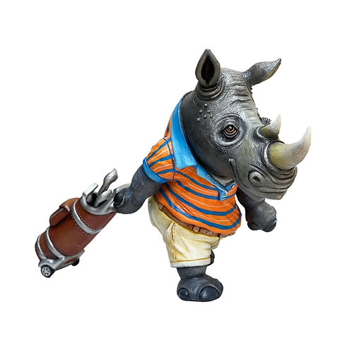 Rhino Golfing
