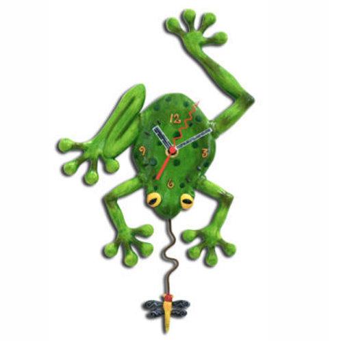 Frog Fly Clock