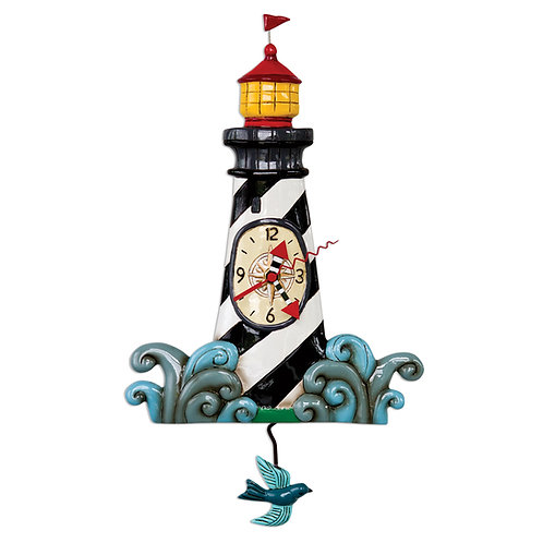 Augie's Lighthouse Pendulum Clock