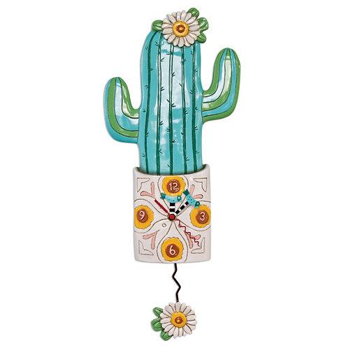 Desert Bloom Pendulum Clock