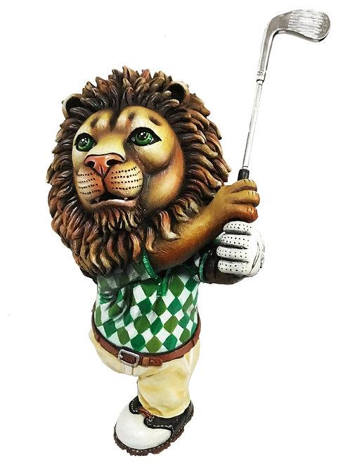 Lion Golfing