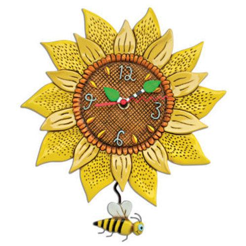 Bee Sunny Pendulum Clock