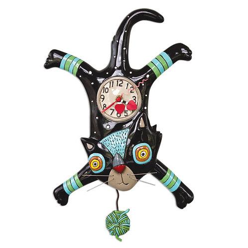 Craft Attack Cat Pendulum Clock