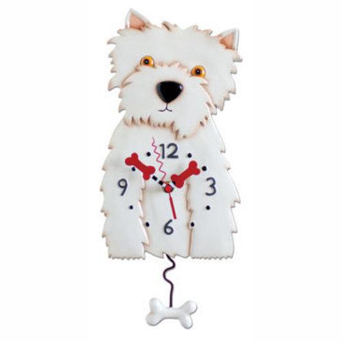 Westin Dog Clock