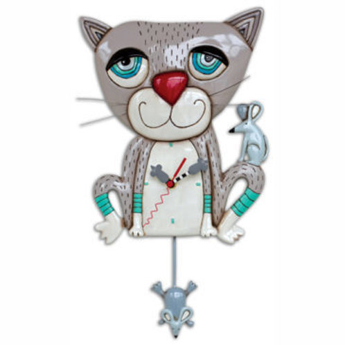 Mouser Cat Clock