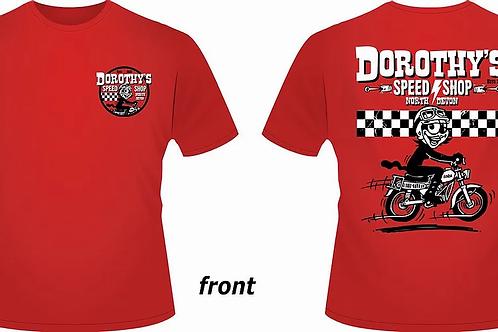 Speed Shop T-shirt (RED)