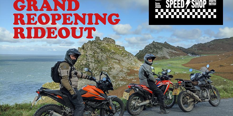 Dorothy's Relaunch - Exmoor Road Ride
