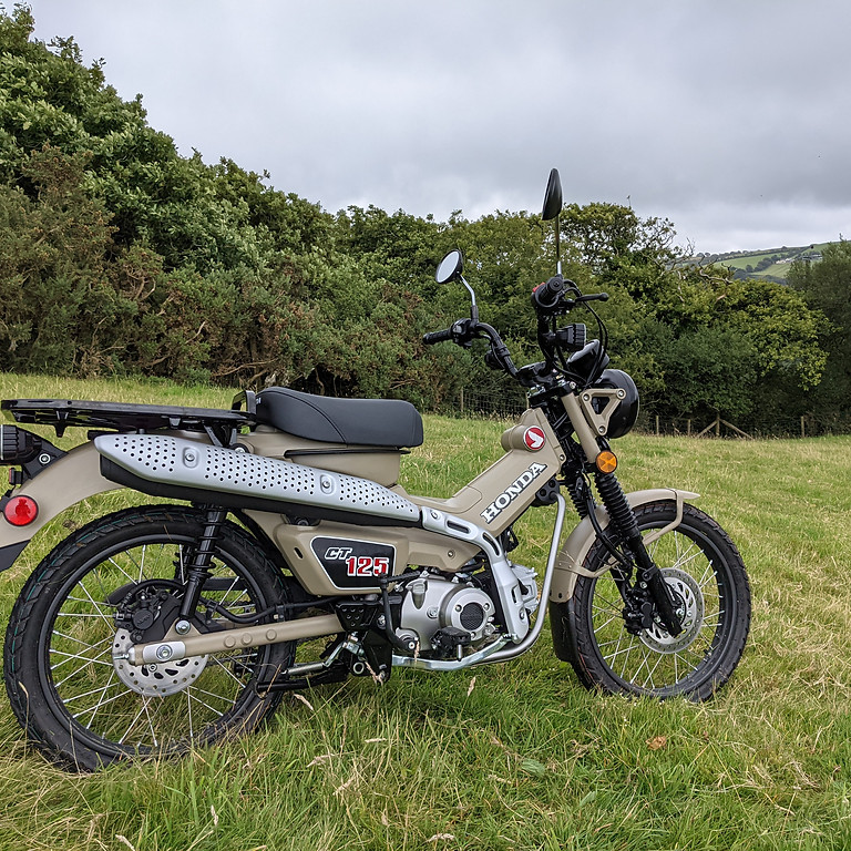 Honda CT125 Adventure Day