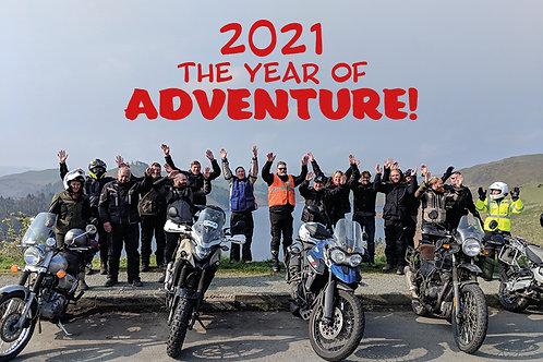 2021 Adventure Calendar