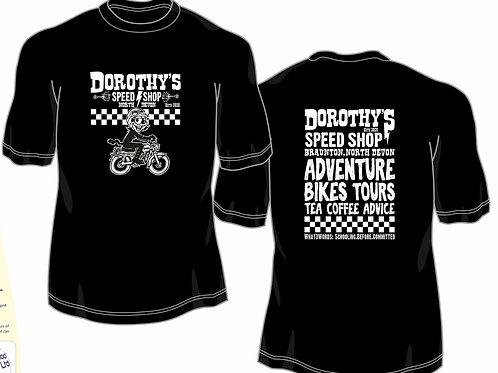 Speed Shop T-shirt (black)
