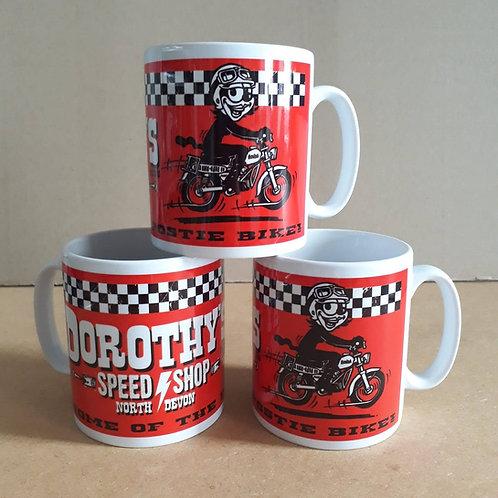 Dorothy's Speed Shop mug