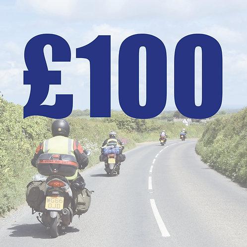 £100 voucher