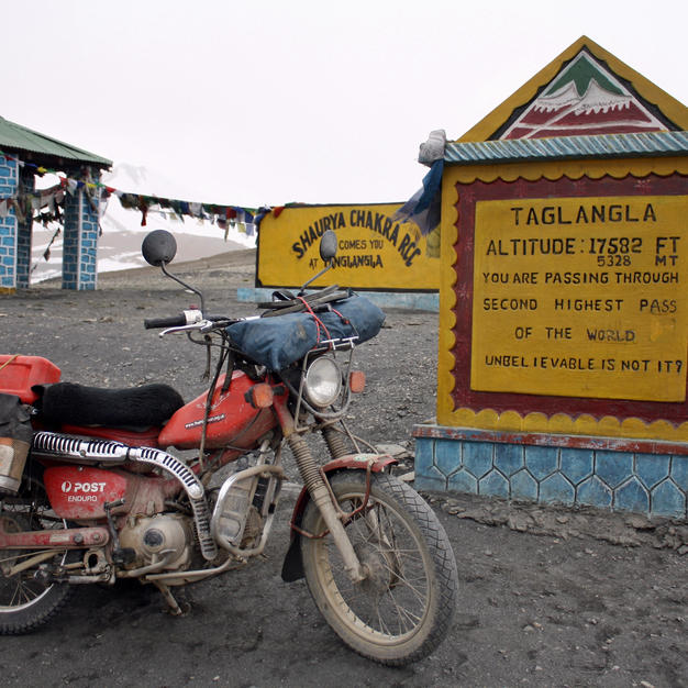 Reaching the 2nd highest road in the Himalayas