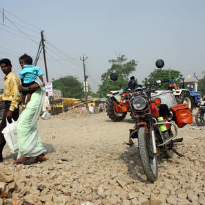 Crossing India on route to Pakistan
