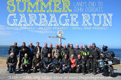 Summer Garbage Run