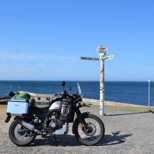 24. The bike works well as a UK tourer,