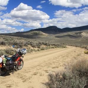 Riding the dirt roads of Colorado
