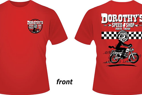 Dorothy's Speed Shop t-shirt