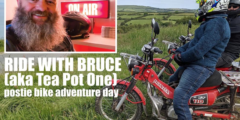 Ride with Bruce Postie bike day
