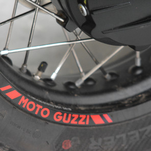 Rim stickers can detach and are being re