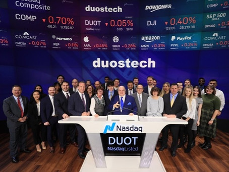 Lucosky Brookman LLP Successfully Represents Long-Time Client, Duos Technologies Group, Inc., in Upl