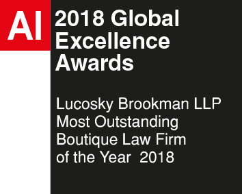 2018 Boutique Law Firm of the Year Award – Lucosky Brookman LLP honored by Acquisition International
