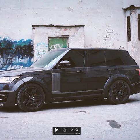 Range Rover Vogue + Lumma CLR R