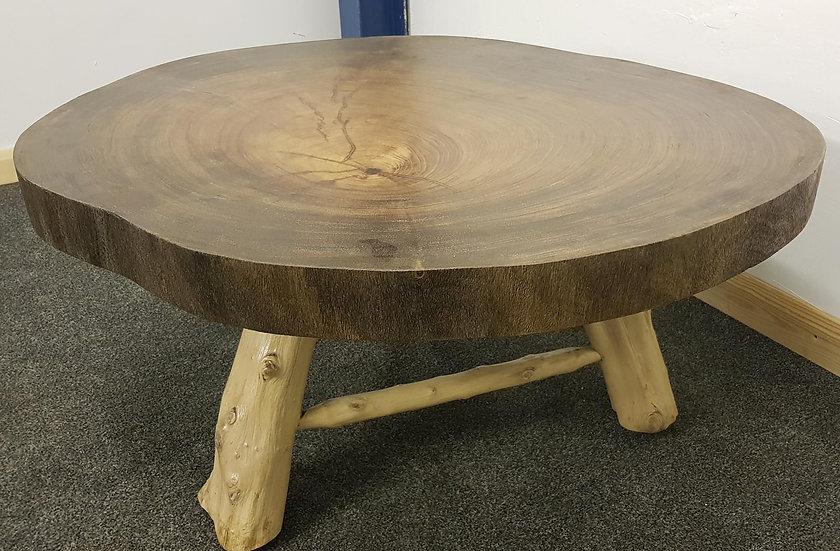 20th Century Large Hardwood Trunk Table