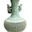 Thumbnail: Oriental turquoise pierced vase