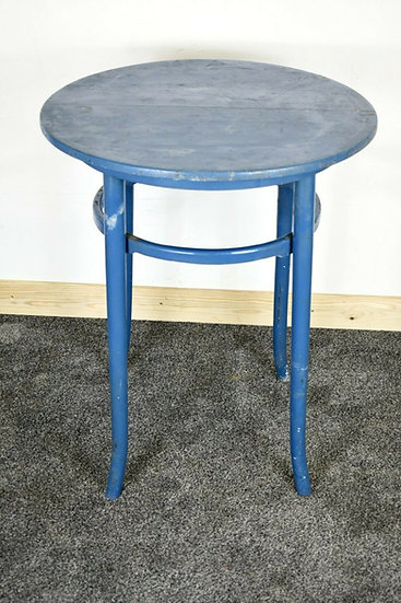 Bentwood Rounded Blue Table