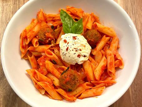 How to Make Store-Bought Marinara Sauce Taste Homemade: Amazing Red Sauce Pasta Recipe