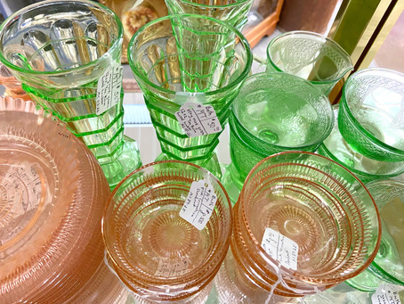Buyer & User Guide to Depression Glass & Jadeite–Fabulous Collectibles & Functional Glassware