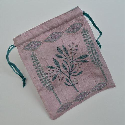 Stamped Silk Bag Workshop £65
