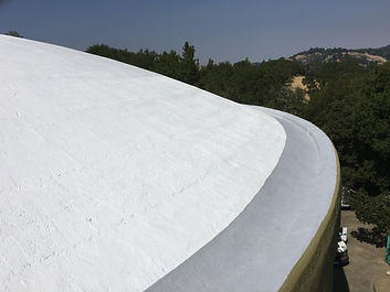 EBMUD 5 milliion gallon Resevoir Roof -