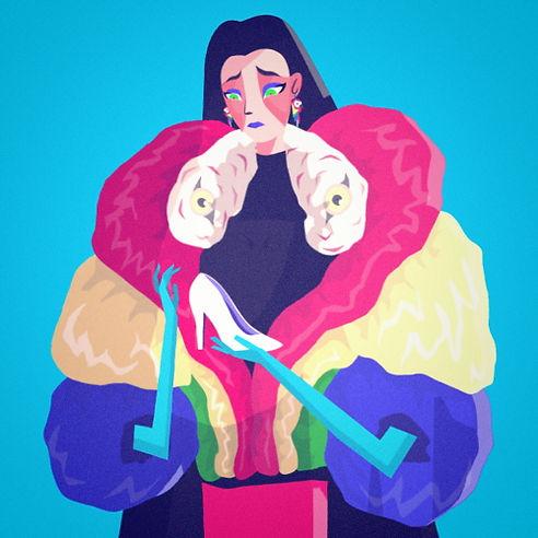 Scarlet Macaw Woman
