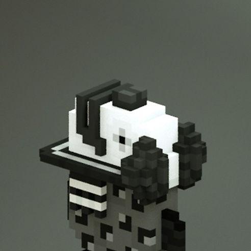 Black and White Clown-Fish