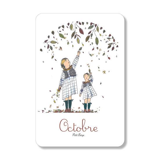 Carte Octobre