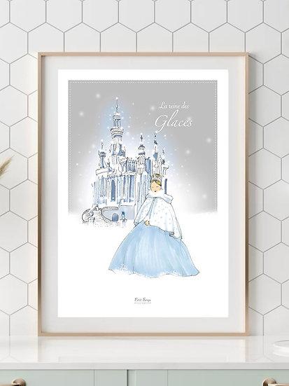 Affiche A4 Reine des glaces