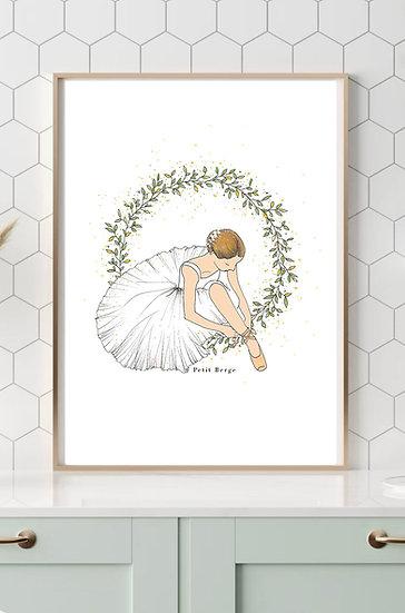 Affiche danseuse