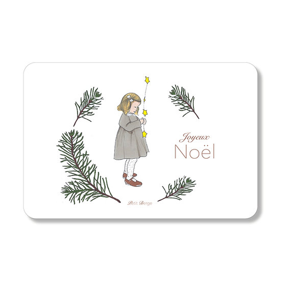 Carte Noël Etoilé