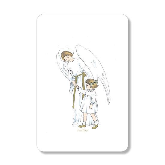 20 Cartes Ange Gardien ( personnalisable)