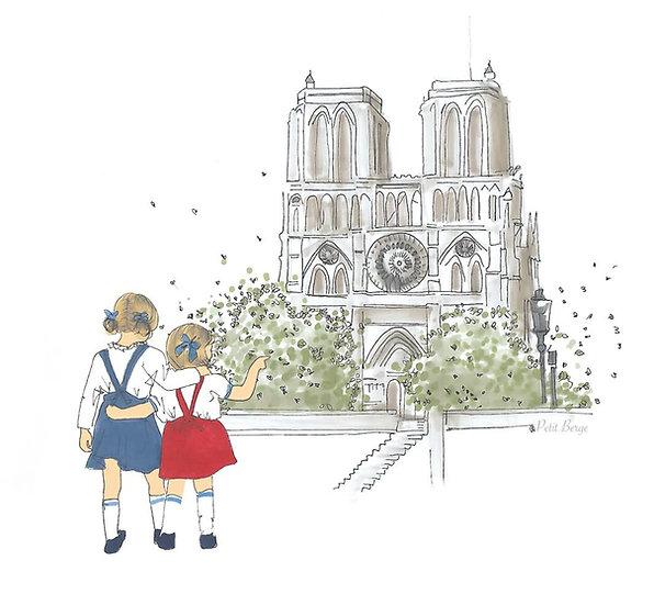 Carte Notre-Dame de Paris