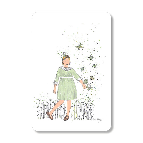 "Carte postale ""papillon"""