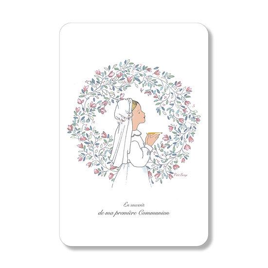 Carte Petite Communiante