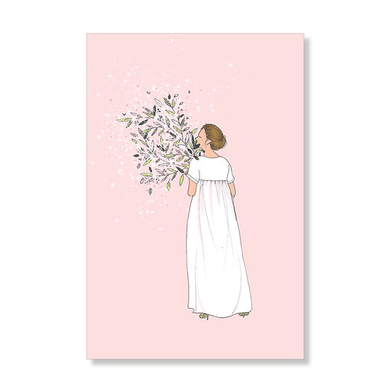 Carte postale jolie maman